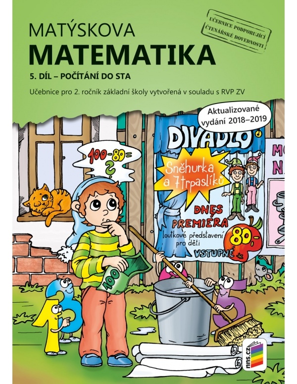 Matýskova matematika, 5. díl - počítání do 100