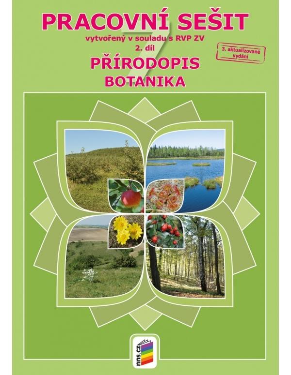 Přírodopis 7, 2. díl - Botanika (pracovní sešit)