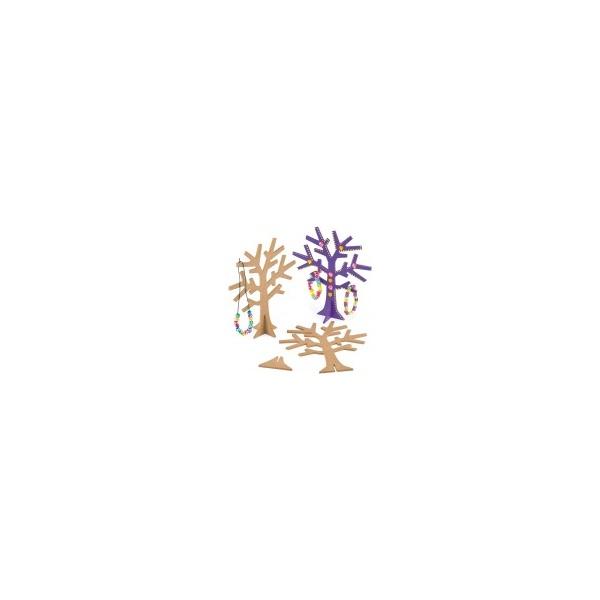 Dřevěné stromky na šperky