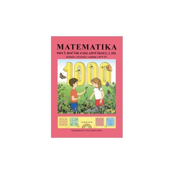 Matematika 3, 2. díl – učebnice - Zdena Rosecká (3-06)