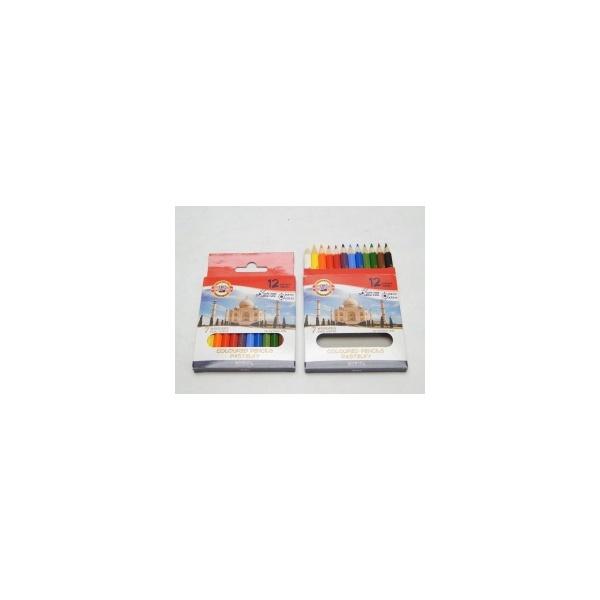 KOH-I-NOOR souprava pastelek školních polovičních 3622 12 7 divů světa