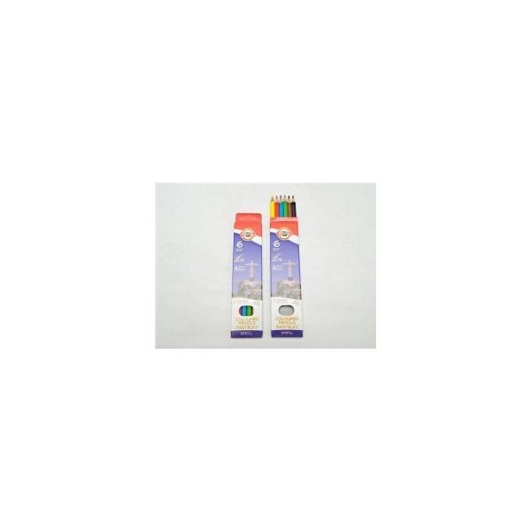 KOH-I-NOOR souprava pastelek školních 3651 6 7 divů světa