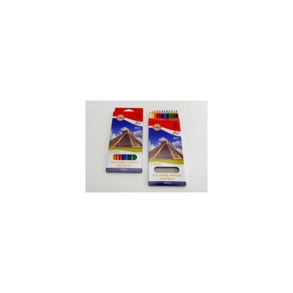 KOH-I-NOOR souprava pastelek školních 3652 12 7 divů světa