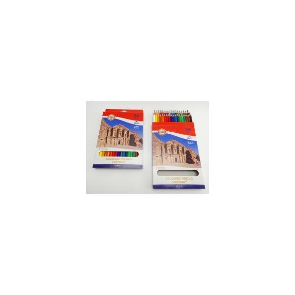 KOH-I-NOOR souprava pastelek školních 3655 36 7 divů světa