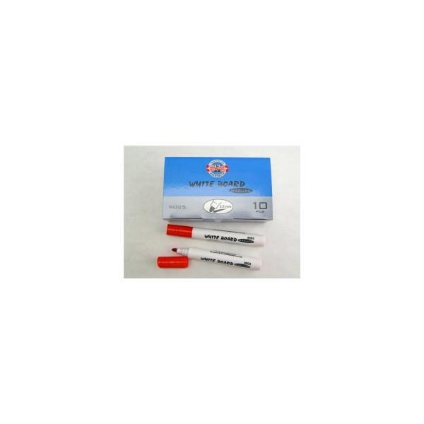 KOH-I-NOOR značkovač White Board 9005 kulatý červený