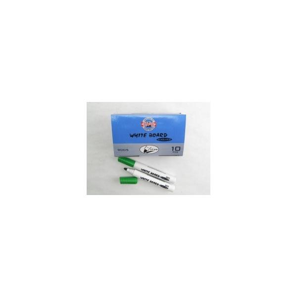 KOH-I-NOOR značkovač White Board 9005 kulatý zelený