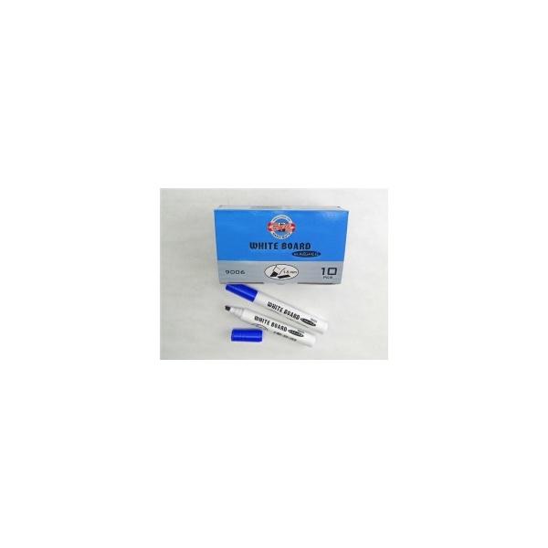 KOH-I-NOOR značkovač White Board 9006 plochý modrý