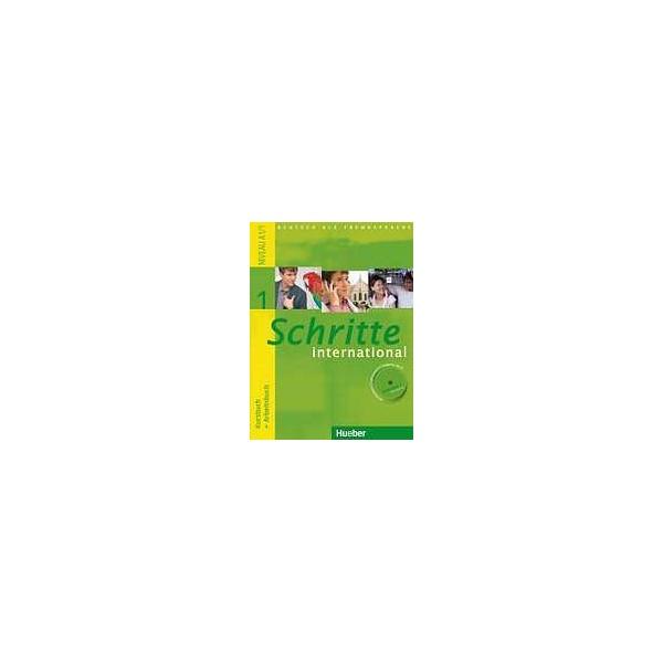 Schritte international 1 Kursbuch + Arbeitsbuch mit Audio-CD zum Arbeitsbuch