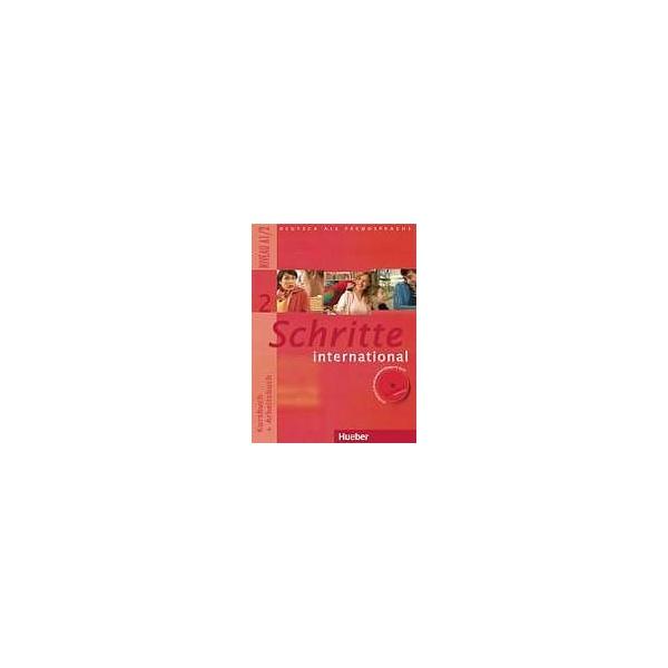 Schritte international 2 Kursbuch + Arbeitsbuch mit Audio-CD zum Arbeitsbuch
