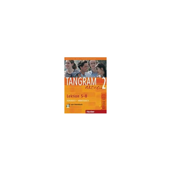 Tangram aktuell 2. Lektion 5-8 Kursbuch + Arbeitsbuch mit Audio-CD zum Arbeitsbuch