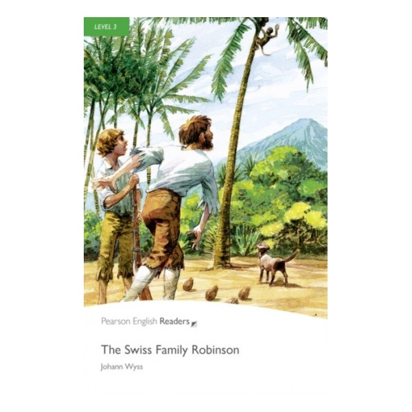 Penguin Readers 3 The Swiss Family Robinson Book + MP3 Audio CD