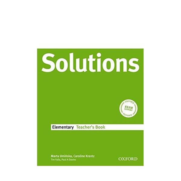 Maturita Solutions Elementary Teacher´s Book