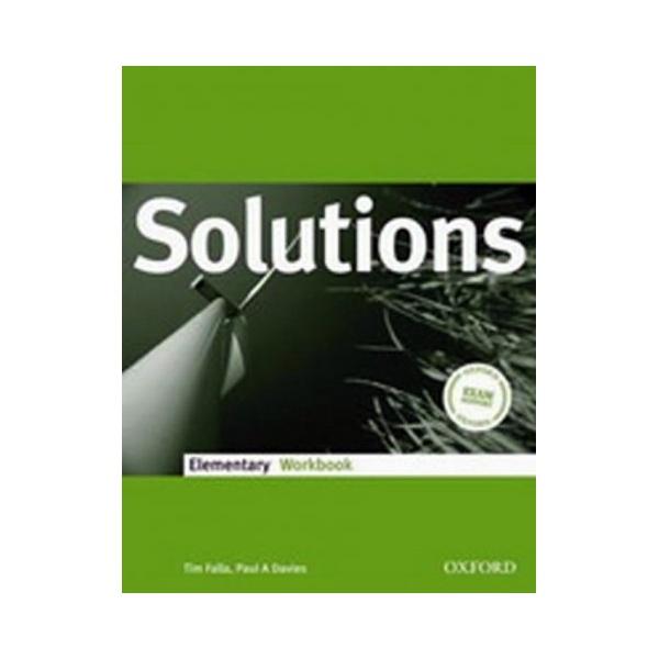 Maturita Solutions Elementary Workbook Czech Edition