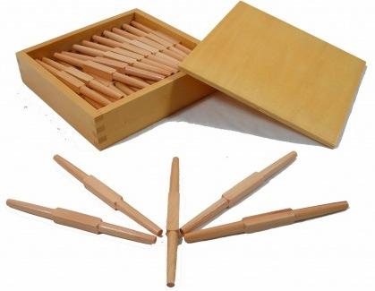 Montessori pomůcky pro vzdělávání