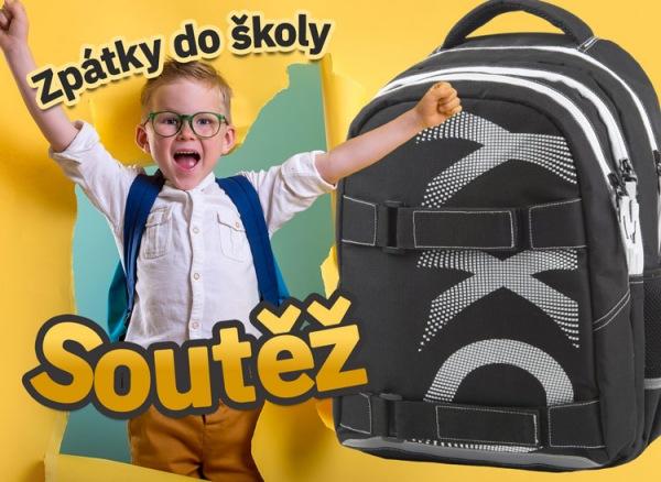 Hurá do školy - blesková soutěž nejen o batoh!